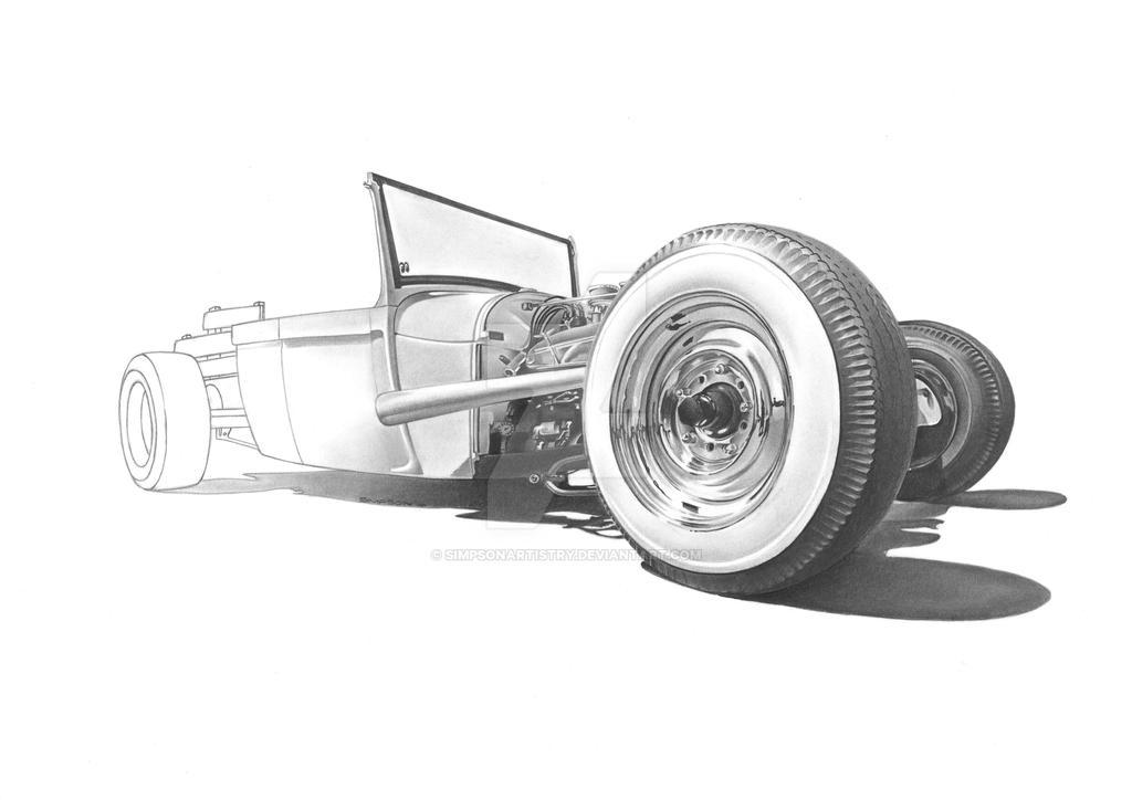 Roadster II by SIMPSONARTISTRY
