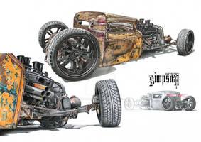 31' Ratt Rod multiview