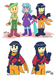Wandersong: RGB by rinacat