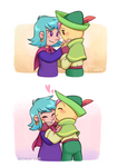 Wandersong: Bard x Miriam Valentine's doodles by rinacat