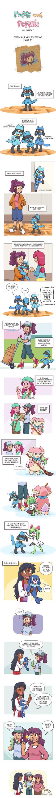 Meg and her Pokemons pt 1