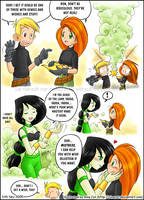 KP: Shego the Genie by rinacat