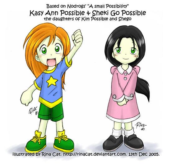 KP: Kasy Ann and Sheki Go by rinacat