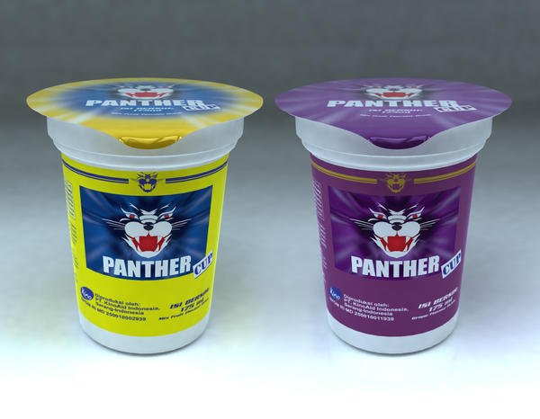 panther cup packaging design by darthdesign on deviantART  panther cup pac...