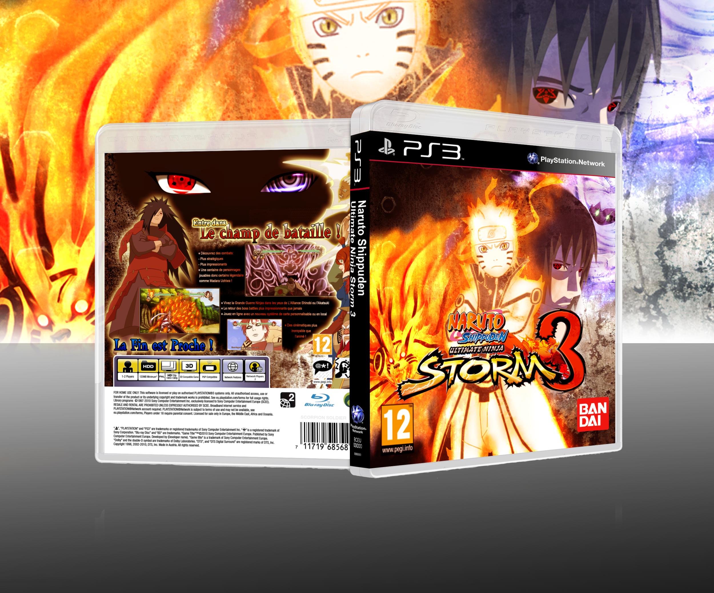 Re: Naruto Shippuden: Ultimate Ninja Storm 3