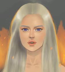 Daenerys Targaryen by 9RallarAr