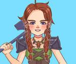 A dwarf warrior by 9RallarAr