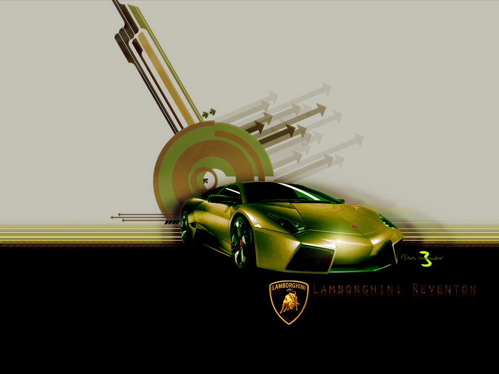 Lamborghini Reventon 2008 by BinM3mar