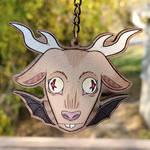 Jersey Devil Wood Charm by DeadYetKawaii