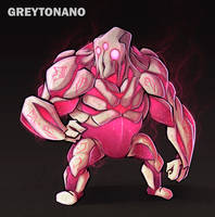 Jelly Golem by Greytonano