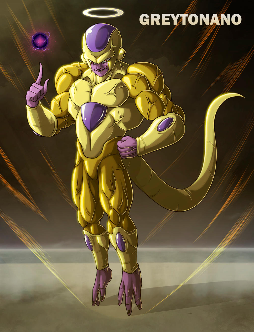 Full Power Golden Frieza V2 by greytonano on DeviantArt