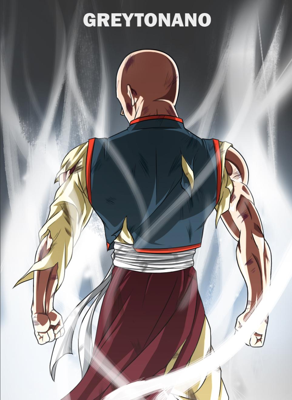 Tien Shin Han Limit Breaker By Greytonano On Deviantart