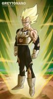 Vegeta The Firts Super Saiyan
