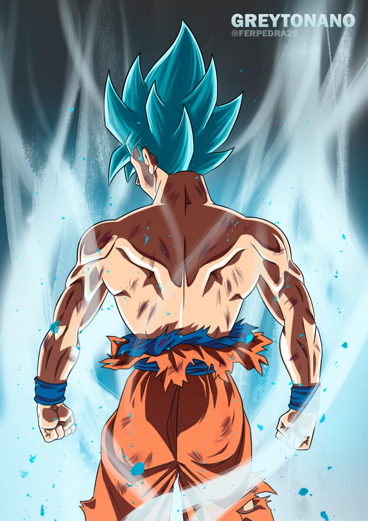 Goku Limit Breaker V3 By Greytonano On Deviantart
