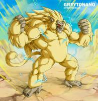 Oozaru SSJ3 Goku by Greytonano