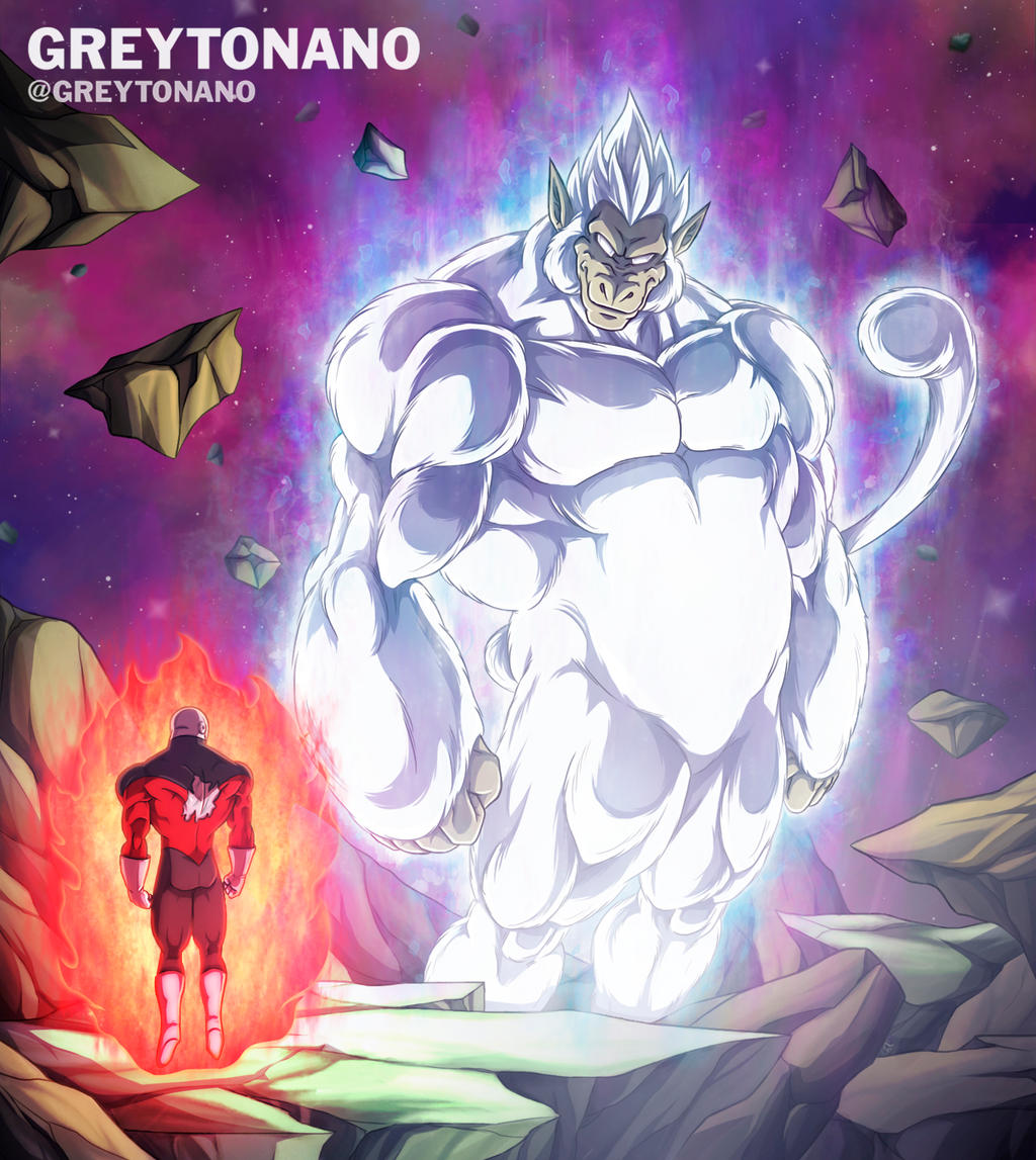 Oozaru Migatte No Gokiu VS Jiren by Greytonano