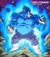 Oozaru Ultra Blue Vegeta by Greytonano
