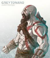 Kratos by Greytonano