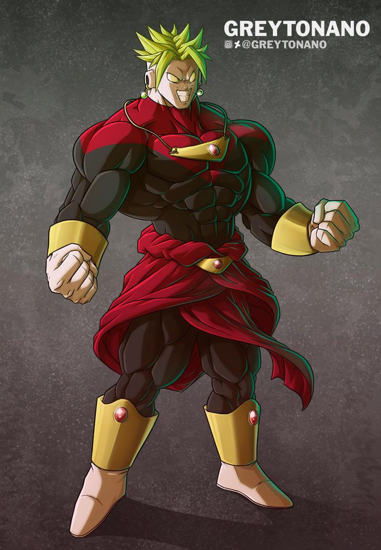 dragon ball super fan art imagines jiren and broly fusion