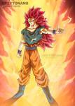 Goku SSJ3 GOD