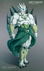 Broly + Omega Shenron by Greytonano