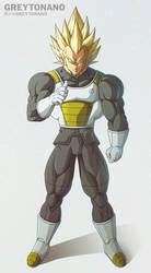 I'm Super Vegeta V2 by Greytonano