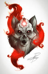 Lobo Skull by Greytonano
