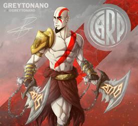 Kratos - Maidana 2018 by Greytonano