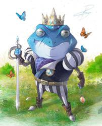 Blue Prince Ferdinand - Principe Azul Ferdinand by Greytonano