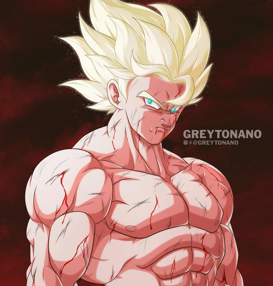 Goku by Greytonano