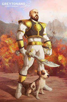 Rick Triton White Ranger V1