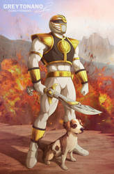 Rick Triton White Ranger V2