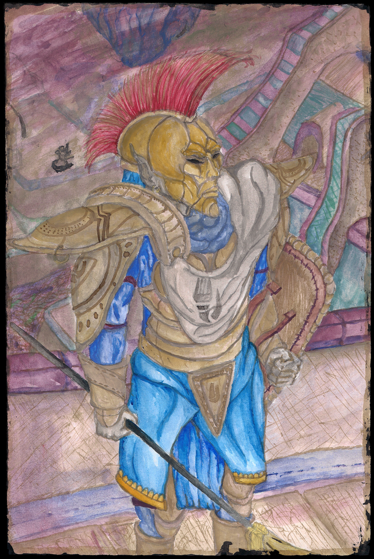 Indoril Ordinator-Vivec City by Yan-Ik