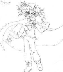Anime Mezmoro Sketch by HHB-BookMaster