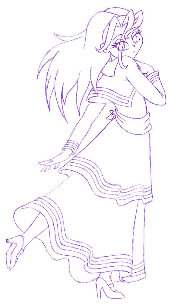 Teen Bell Sketch for Bleedman