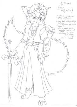 Art Request: Sytakan sketch
