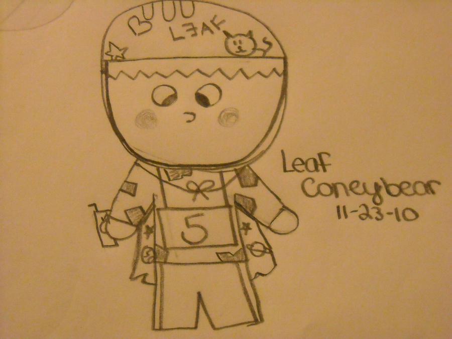 Leaf Coneybear by renthead19