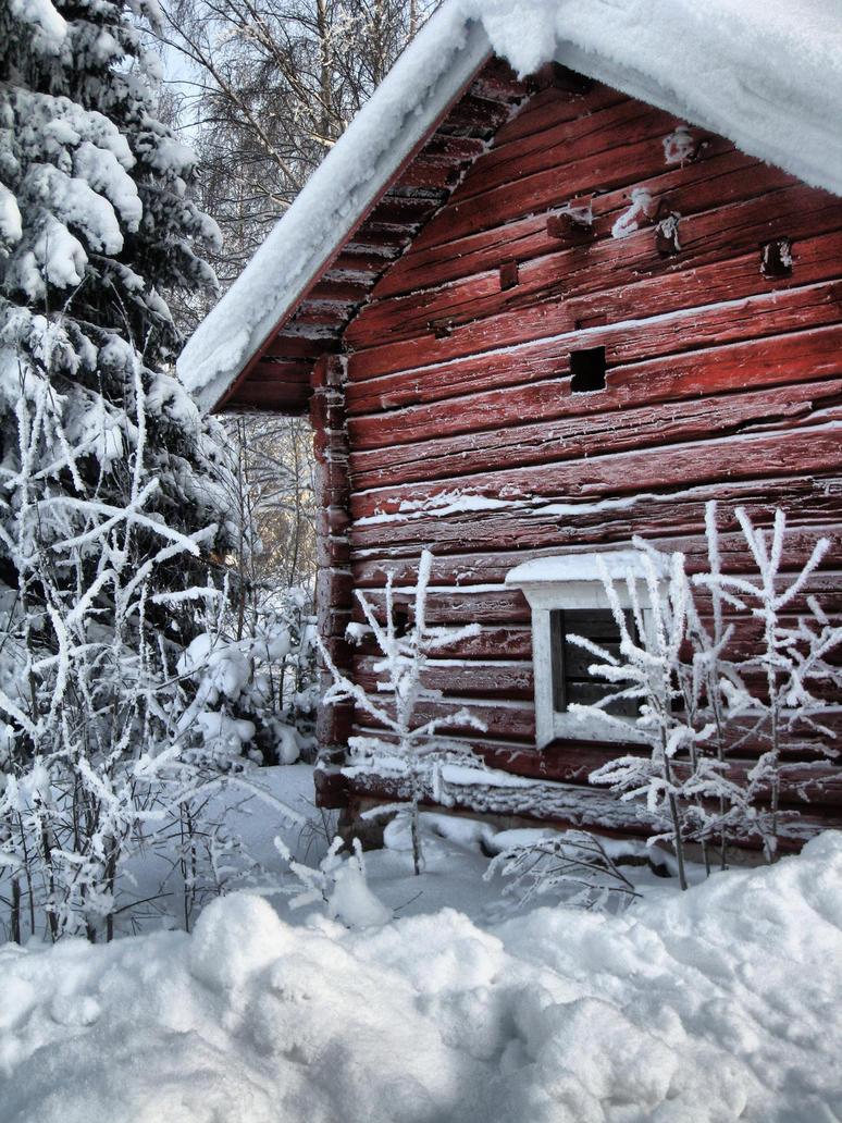 Sauna by Ruskaphoto