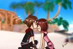 Sora x Kairi - Kingdom Hearts
