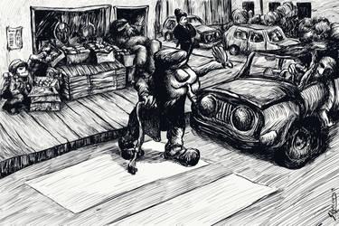 The old man crossing by stephenignacio