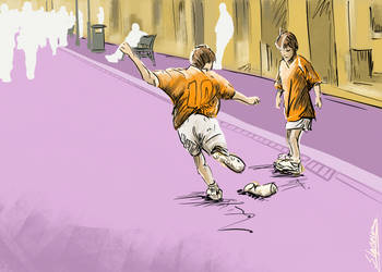 Street football by stephenignacio