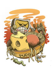 Puerco the monster eaters by stephenignacio