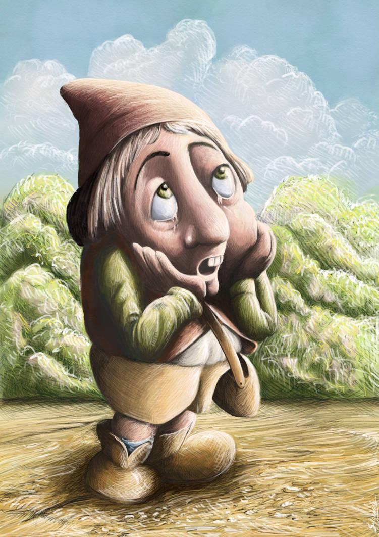 The sad elf by stephenignacio