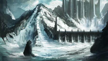 Mountain's Castle by JanPhilippEckert