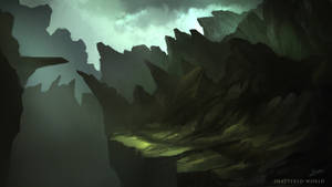 Shattered World - Environment Concept 01