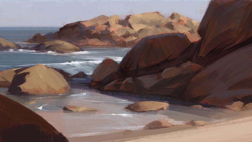 Study 01 - Beach by JanPhilippEckert