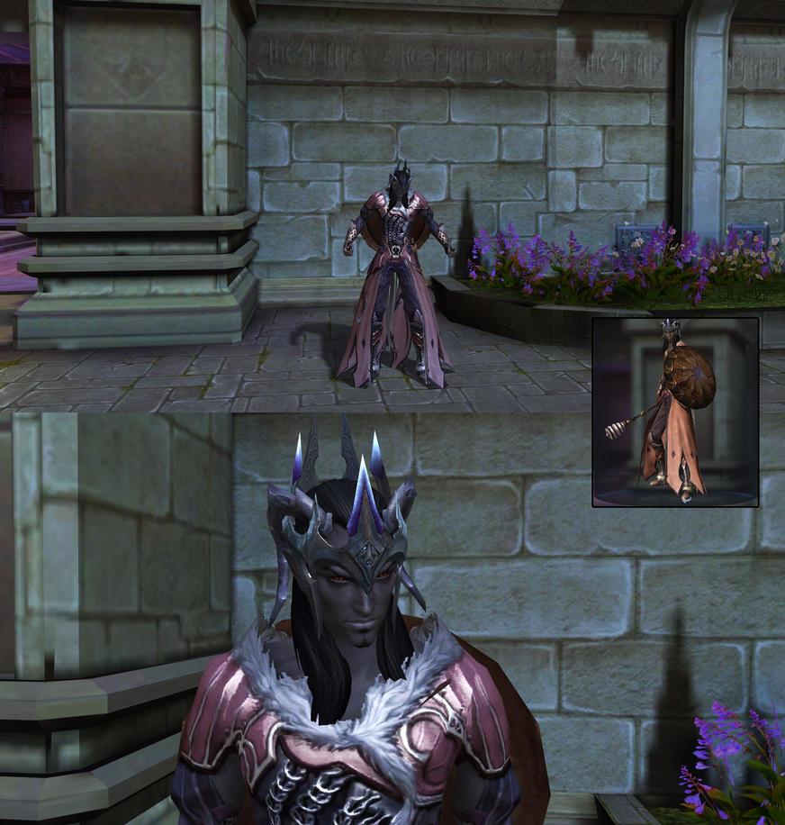 Morgoth Bauglir in Aion #2 by fallenRazziel