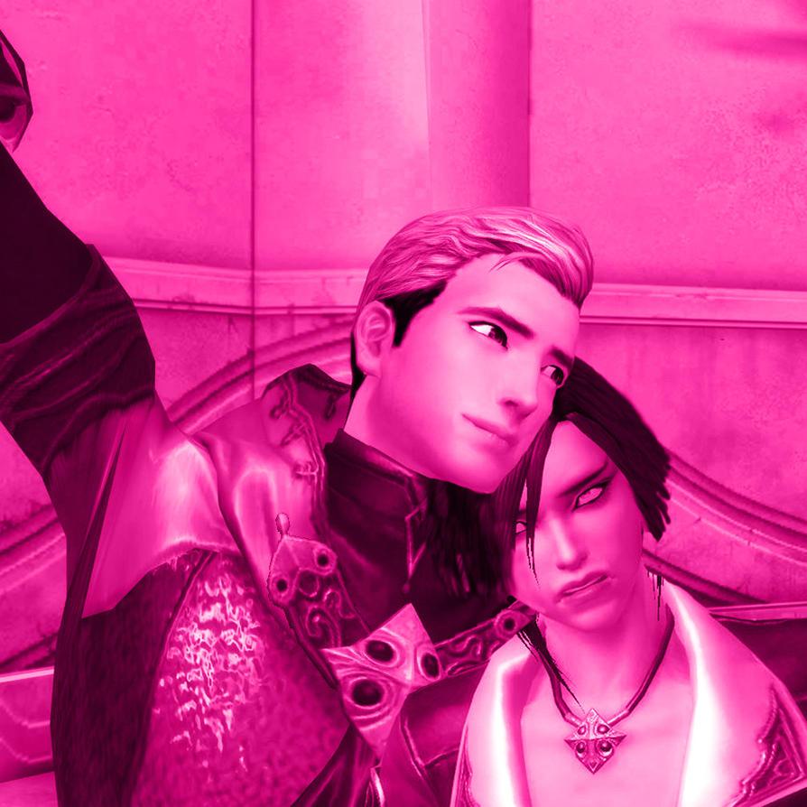 EruRi in Pink by fallenRazziel