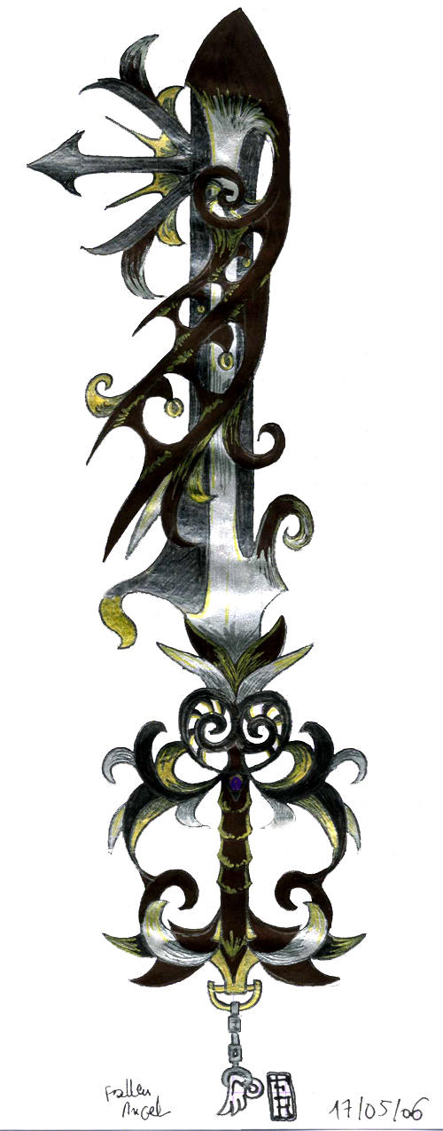 My Keyblade by fallenRazziel