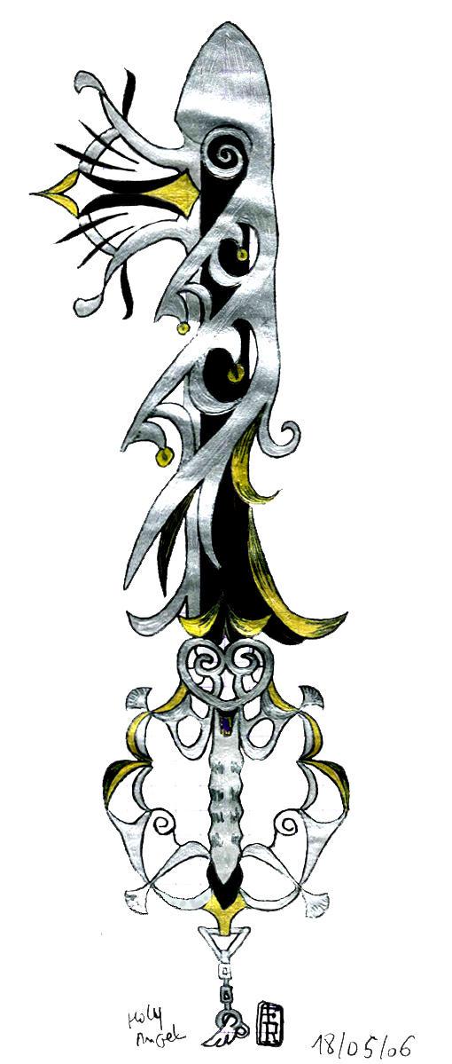 My 2nd Keyblade by fallenRazziel